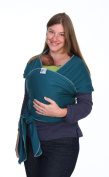 Moby Wrap Original 100% Cotton Baby Carrier, Pacific