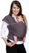 Moby Wrap Original 100% Cotton Baby Carrier, Slate