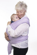 Moby Wrap Original 100% Cotton Baby Carrier, Lilac