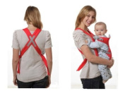 Convenient Baby carriers Slings Backpacks Decompression strap Red for 3 month to 12 month baby