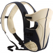 Ecosusi Classic Front and Back Baby Carrier Cream