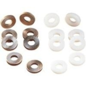 Eastern Motorcycle Parts Steel Breather Valve Washer Kit A-25313-SET