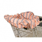Wupzey Shopping Cart / Diner Cover - Orange Stripe