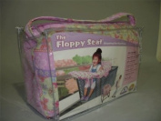 Floppy Seat Fold N Carry Shopping Cart and High Chair Cover, Butterfly Bliss