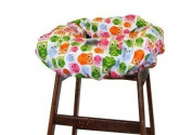 Itzy Ritzy Shopping Cart and High Chair Cover, Hoot