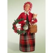 Byers Choice Grandmother Shopper