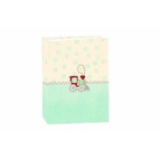 10.2cm X15.2cm MINI BABY PHOTO ALBUM - BLUE TRAIN - FOR 36 PHOTOS - Photo Album