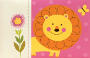 Pepper Pot Baby Picture Brag Book, Jungle Friends Girls