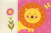 Pepper Pot Baby Picture Brag Book, Jungle Friends Girls