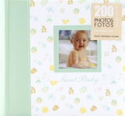 Pinnacle 200 Pocket Book Bound Baby Photo Album