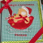BABY'S CHRISTMAS PHOTO ALBUM - 100 4X6 Photos by Sunshine Baby