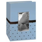 6 Pack PHOTO ALBUM GIFT BOX BABY BLUE Papercraft, Scrapbooking
