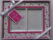 Pink Daisy first photo and announcement picture frame