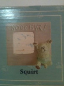 "Squirt.........""So Big"" Boyds Bears Baby Collection Mini Resin Picture Frame"