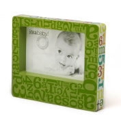 Iota Wooden Photo Frame, Alphabet Soup