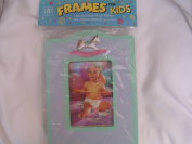 Photo Frame for Kids ; 3 1/2 x 5 Wooden Stand Alone Picture Frame