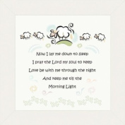 Child Prayer Framed Wall Decor 20.3cm X 20.3cm