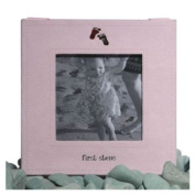 Pink First Steps Picture Frame