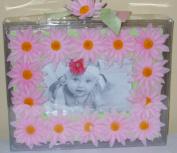 Baby Essentials Daisy Frame - Pink