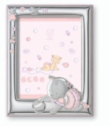 Silver Touch USA Sterling Silver Picture Frame, For A Girl