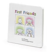 Friendly Pacifier Whimsical Board Book with First Friends Story