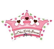 A New Little Princess Crown Shape 61cm Mylar Balloon