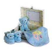 Aurora Plush Baby Boy Comfy Gift Set