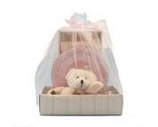 Bearly Cuddly Pink Baby Newborn Gift Keepsake Set