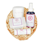Welcome Baby Gift Basket - Calendula Oatmeal