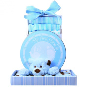 The Gift Basket Gallery Beary Blue Gift Basket for Boys