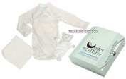Organic Egyptian Cotton Newborn Baby Gift in Treasure Box
