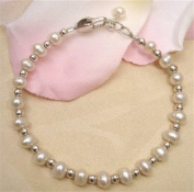 My First Freshwater Pearls Bracelet 4 yr & up
