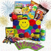 Toys, Snacks, and Fun, O My! Activity Gift Basket for Kids -Organic Stores