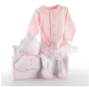"Hot Seller ""Big Dreamzzz"" Baby Ballerina Two-Piece Layette Set in ""Studio"" Gift Box"