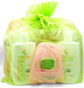 """The Septuplet"" - Girls Seven Piece Organic Gift Set by Organically Grown"