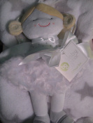Baby Girl Star Blanket with Little Doll Angel