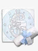 Light of Mine Designs Million $ Baby Blue Receiving/Swaddling Blanket