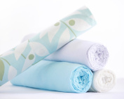 Muslin Swaddle Set - True French Muslin - Baby Shower Gift - GROVE