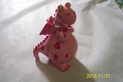 Dinosaur - Pink with Splots