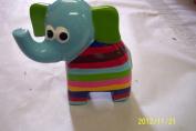Elephant Bank with Blue Head