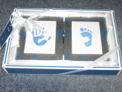 Cudlie! Let's Go! My First Handprint and Footprint Frame Set