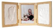Clay Keepsakes & Photo Desktop Frame - Natural
