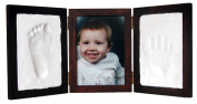 Clay Keepsake & Photo Desktop Frame - Red Mahogany