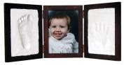 Clay Keepsake & Photo Desktop Frame - Red Mahogany