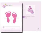 TenLil'Imprints Birth Announcement Kit, Pink