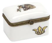 Cid Pear Ceramic Keepsake Box, Storytime Bear