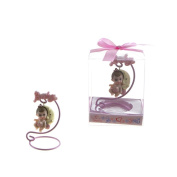 "Lunaura Baby Keepsake - Set of 30.5cm Girl"" Baby Sitting on Swing Moon Favours - Pink"