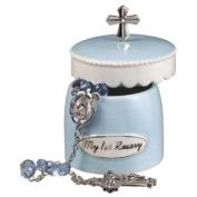 My 1st Rosary with Keepsake Box - Blue