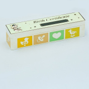 KALEIDOSCOPE COLLECTION BIRTH CERTIFICATE HOLDER