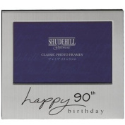 Happy 90th Birthday Photo Frame 12.7cm by 8.9cm